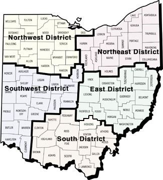 Ohio Family and Children First Map