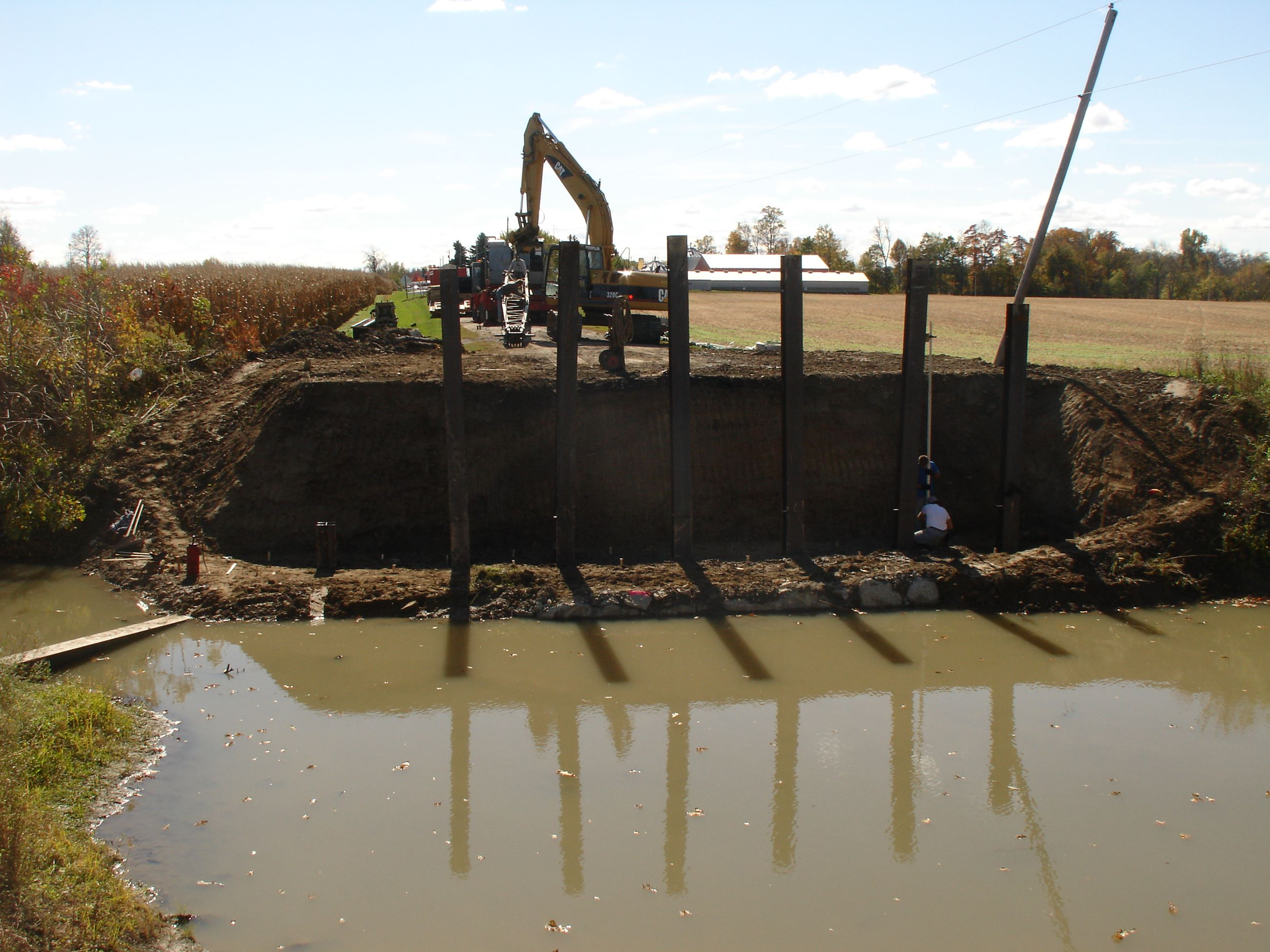 Building a Ditch Wall