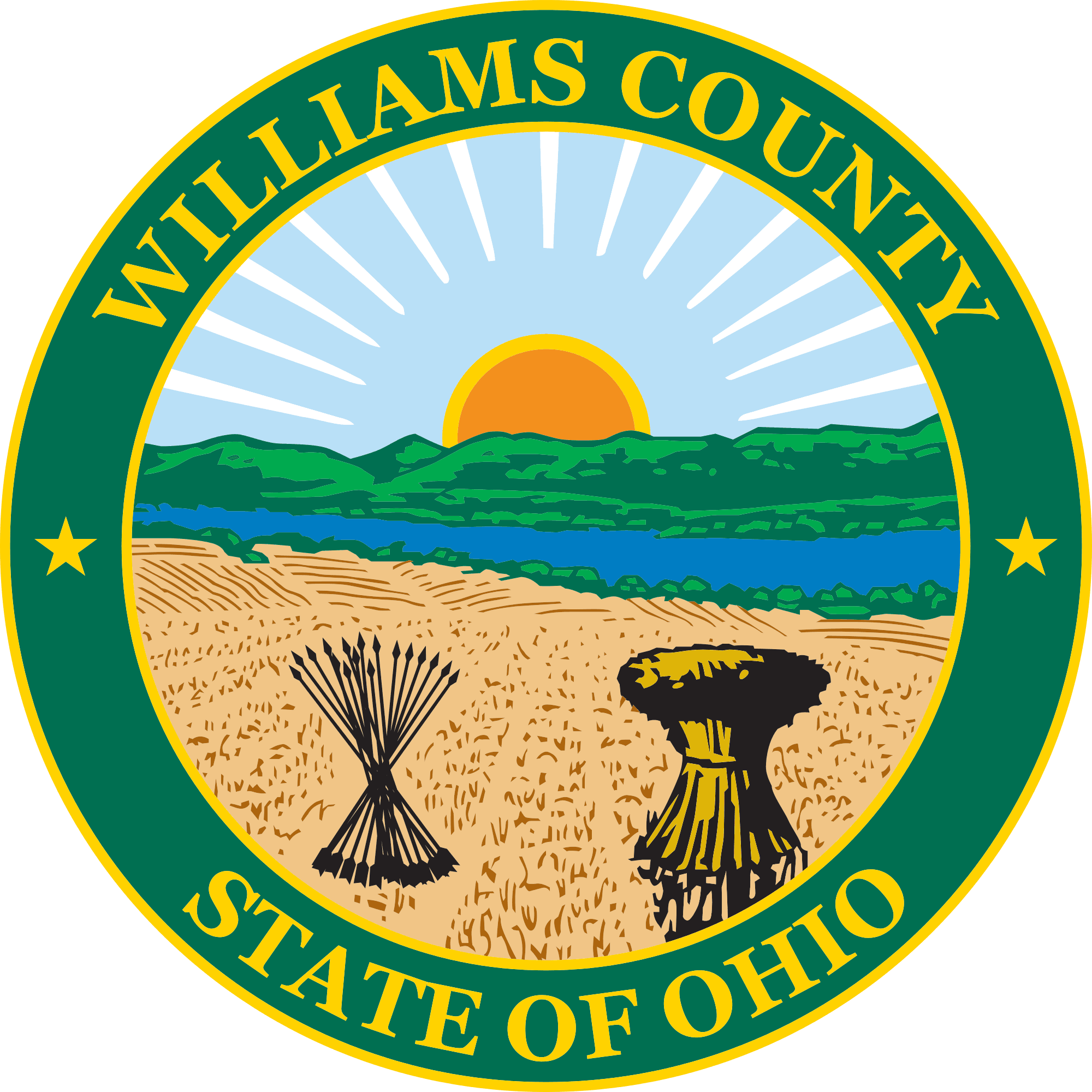 Seal of Williams County Ohio